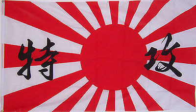 JAPANESE KAMIKAZI JAPAN RISING SUN WWII FLAG 3x5ft better quality usa seller
