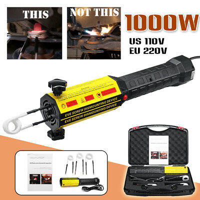 1000W 220V Mini Ductor Magnetic Induction Heater Kit Automotive Flameless Heat