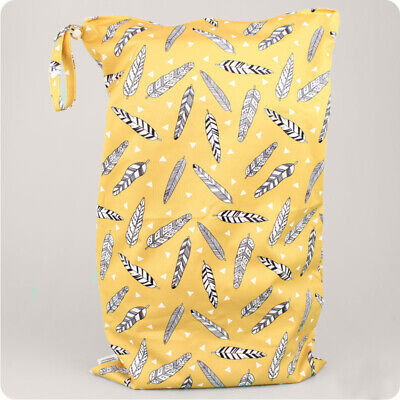 Alva Baby Hanging Nappy Pail -Hanging Storage Bag for Reusable Nappies   Wet Bag