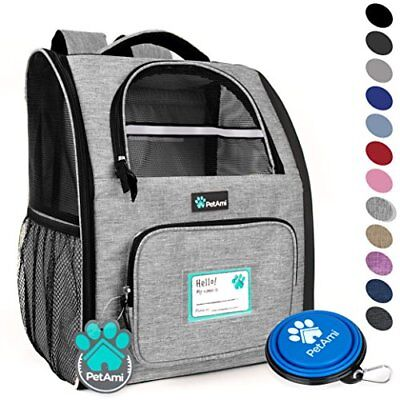PetAmi Deluxe Pet Carrier Backpack for Small Cats and Dogs, Puppies | Ventila...