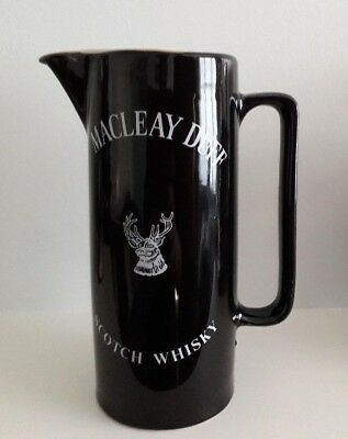 Macleay Duff Scotch Whisky Ceramic Water Jug
