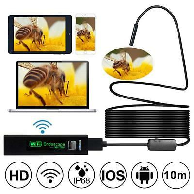 Wireless Endoscope 1200P, Prostormer Ip68 Waterproof 2.0 Mp Hd Borescope Inspect