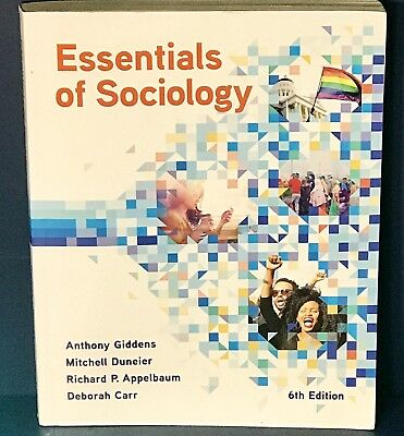 NEW ESSENTIALS OF SOCIOLOGY 6th Ed by Anthony Giddens 2017 UNUSED CODE
