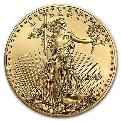 2019 1/10 oz Gold American Eagle BU - SKU#171386