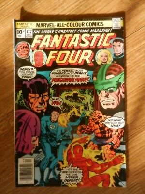 Fantastic Four  Vol 1 # 177  FN Condition  Kirby cover