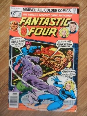 Fantastic Four  Vol 1 # 182  FN Condition