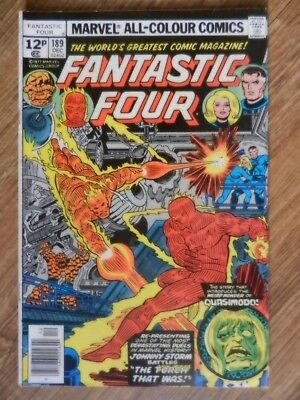 Fantastic Four  Vol 1 # 189  FN Condition