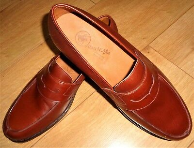 NEW ALAN MCFEE CHURCH'S SIZE 10 PENNY LOAFER CUSTOM GRADE Shoes MEN'S
