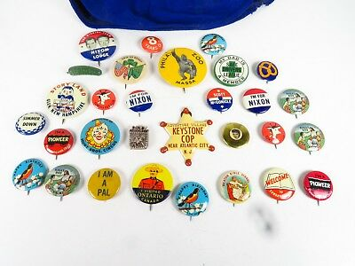 Buttons / Pin collection 1950's