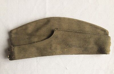 Calot Canadien 39-45 Daté 1941 Canadian Side Cap WW2 Field Service