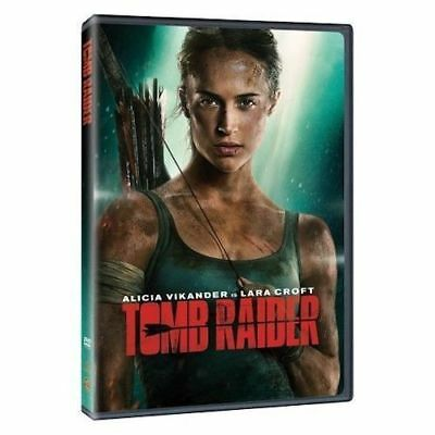 Tomb Raider (DVD, 2018) Brand NEW! Lara Croft, Action, Adventure Sealed