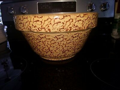 "Vintage 12"" RRP Co Spatter Ware Mixing Bowl"
