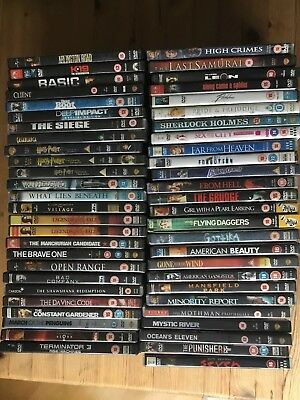 Sale Job Lot 52 DVDS Collection Bundle