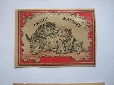 Old Japanese Cat Matchbox Label.design 12.