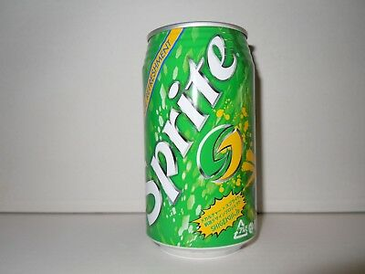 SPRITE 350 ml. ALUMINUM CAN from JAPAN from 2008 EMPTY  !!!