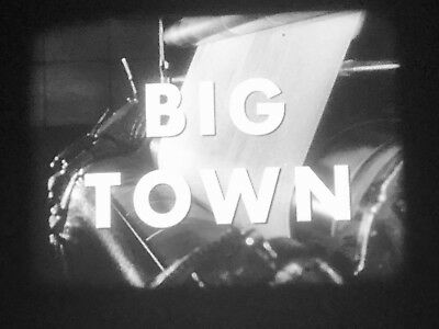"16Mm Tv Show ""big Town"", Network Print, Original Commercials, 1955"