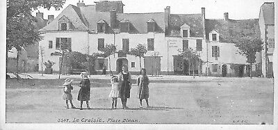 Cp Le Croisic Place Dinan Animee