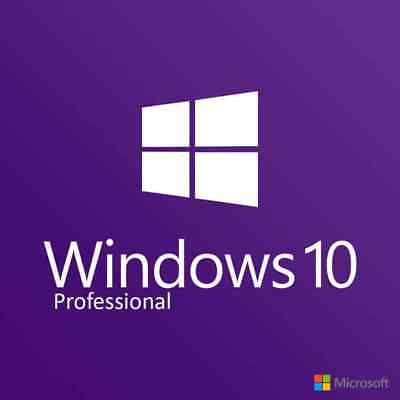 Genuine Windows 10 Professional Pro 32 64 Bit License Activation Key Instant