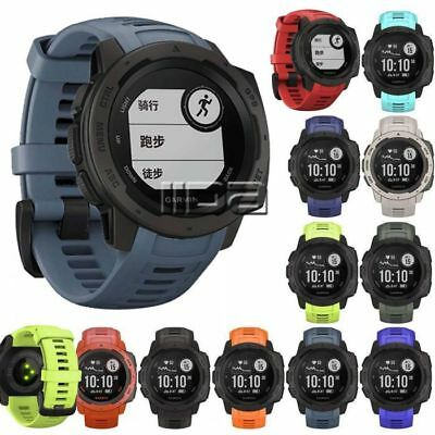 for Garmin Instinct Sport Replacement watch Strap Watch Silicone Band 22mm