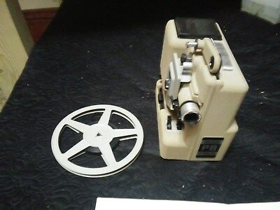 Vintage Eumig 8mm Film Movie Projector Model P8 Excellent Working!