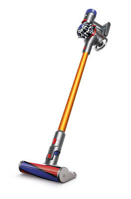 Dyson V8 Absolute Silver/Yellow Cord-Free Motorhead Vacuum Cleaner Brand New