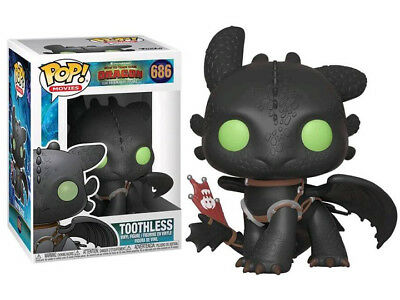 Funko Pop! Movies: How to Train Your Dragon 3 TOOTHLESS #686 (Pre-Order)