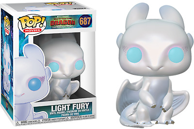 Funko Pop! Movies: How to Train Your Dragon 3 LIGHT FURY #687 (Pre-Order)