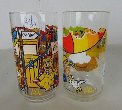 McDonald's The Great Muppet Caper Glasses Vintage 1981-Lot of 2-#4