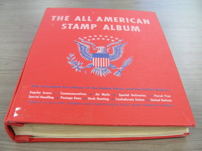 US, incl BOB, Excellent Stamp Collection mounted in a Minkus All American album