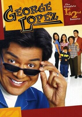 GEORGE LOPEZ: THE COMPLETE FIRST AND SECOND SEASONS Box Set NEW DVD