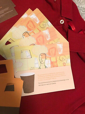 25x 2006 Starbucks Coffee Recovery Gift Card Certificate Drink Coupon