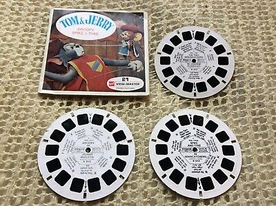 Viewmaster - Tom & Jerry - 3 x Reel Set