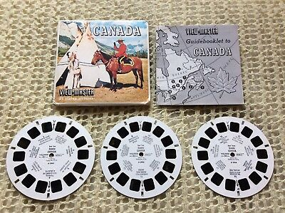 Viewmaster - Canada - 3 x Reel Set