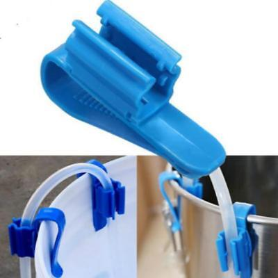 Home Brew & Wine Making - Plastic Syphon Clamp - Tube Clip Controls Flow ON SALE
