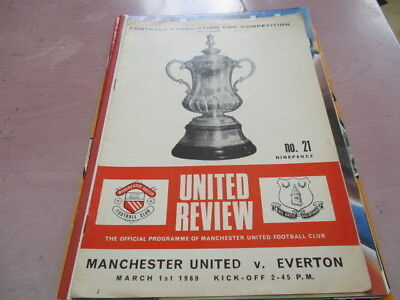 Manchester  Utd  V  Everton  1968-9   Fa  Cup