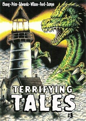 262 TERRIFYING TALES #3 Rainfall chapbook. Tales of horror and the macabre