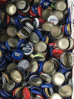 Lot of 500+ Used Beer Bottle Caps - Over 2 Pounds - Mixed Variety