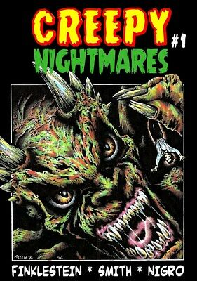256CREEPY NIGHTMARES#1 Rainfall chapbook. Tales of horror and the macabre