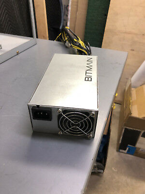 Bitmain APW3++ Power Supply PSU for Antminer L3+, S9, etc. Used