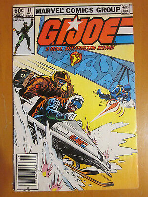 G.I. Joe A Real American Hero #11 VG/FN May 1983 1st print Marvel GI Airborne