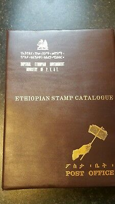 Haile Selassie Ethiopian stamps cataglogue 1894-1968 African stamps  RARE