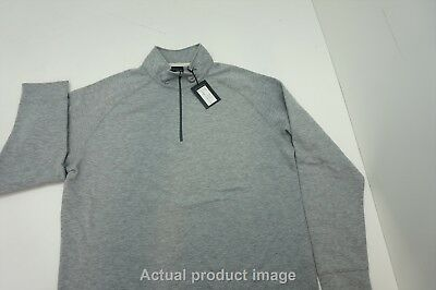 NEW Dunning Golf Fall  Pullover Large Mid Grey Heather 205e