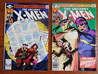 Uncanny X-Men 141, 142, Days of Future Past, First App Phoenix II, 1981