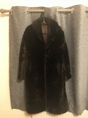 Vintage 1950s Real Fur Coat (needs a repair)