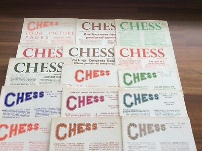 Chess Magazine Vol 26 Nos 374-394 Chess Sutton Coldfield