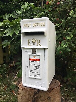 Royal Mail White Wedding Post Box HIRE ONLY Gloucestershire Stroud Personalised