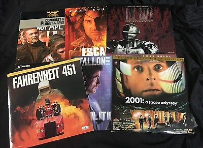 Laser Disc Lot - Science Fiction and Action