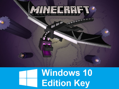 Minecraft Windows 10 Edition, PC, Key, Activation Key Only NO BOX