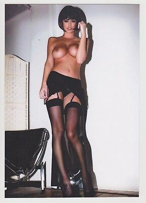 Postcard Pinup Risque Nude Stunning Girl Extremely Rare Photo Post Card 9055