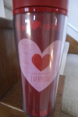 Starbuck 2012 Valentine Large Red/pink Travel Tumbler
